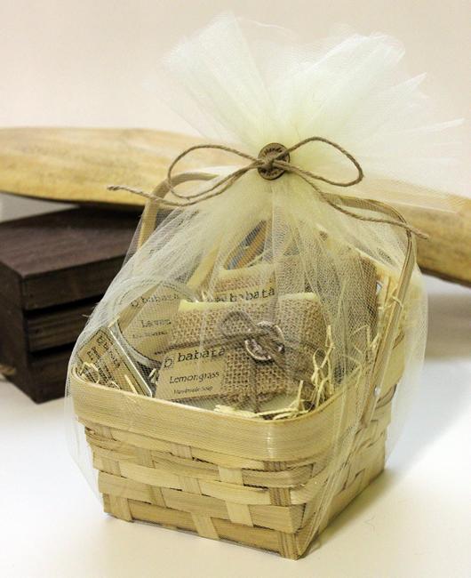 Handmade Soap Basket :